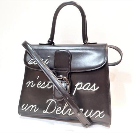 デルヴォー(DELVAUX) ルーモアドブリヨン(Les Humeurs de Brillant) 2WAYレザーバッグ