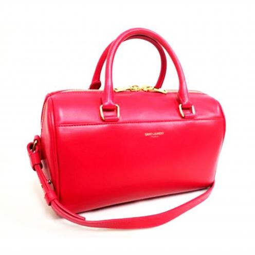 サンローランパリ(SAINT LAURENT PARIS) クラシックベイビーダッフル 2WAYハンドバッグ