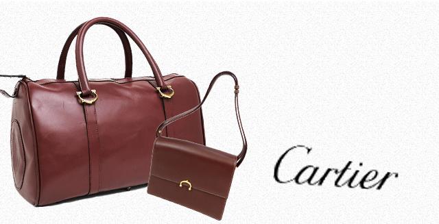 カルティエのバッグ