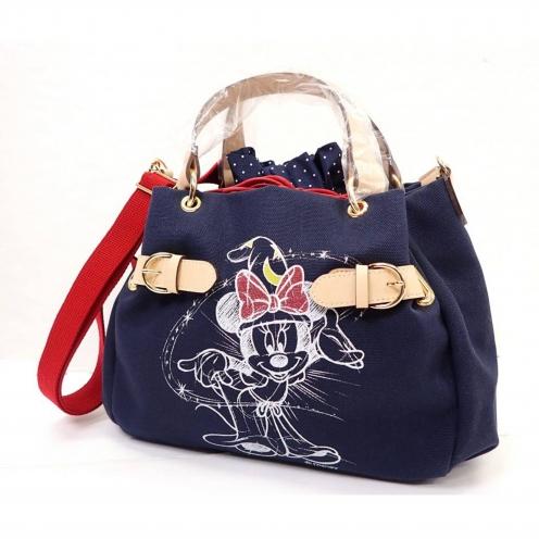 サマンサタバサ(Samantha Thavasa) ディズニーコレクション ミニープリント 2WAYキャンバスバッグ