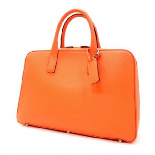 大峡製鞄(OOBASEIHOU) スリムオーバーナイト レザーブリーフケース