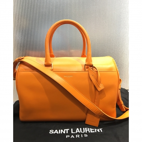 サンローランパリ(SAINT LAURENT PARIS) クラシックダッフル 322049 2WAYハンドバッグ