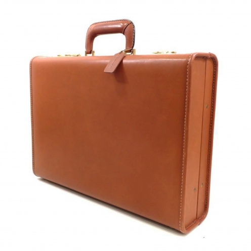 コーチ(COACH) レザー トランクケース アタッシュケース ビジネスバッグ
