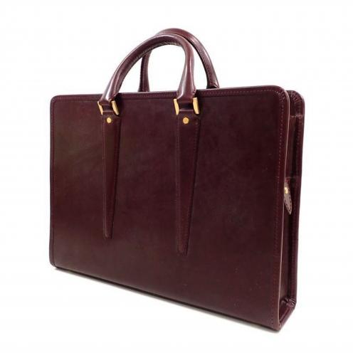 大峡製鞄(OOBASEIHOU) サンタクローチェ レザーブリーフケース