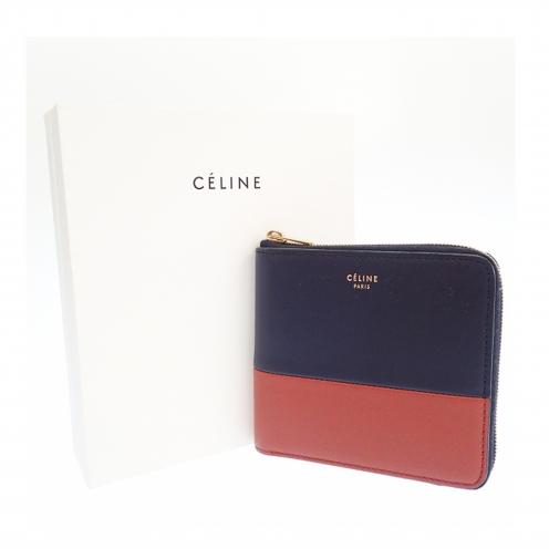 セリーヌ(CELINE) 10523 スモールジップ コンパクトウォレット