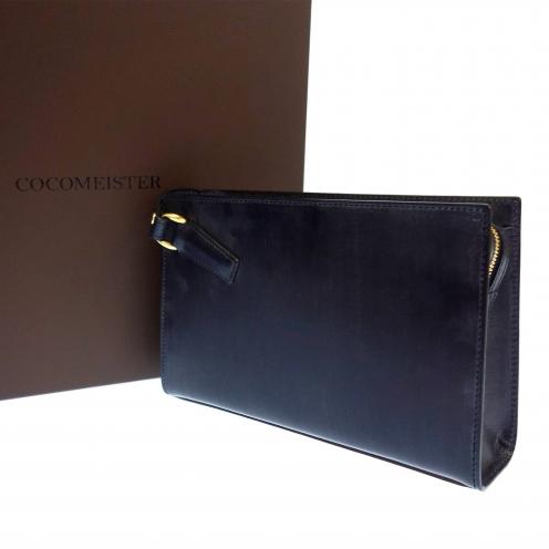 ココマイスター(COCOMEISTER) 43015052 ブライドルレザー セカンドバッグ