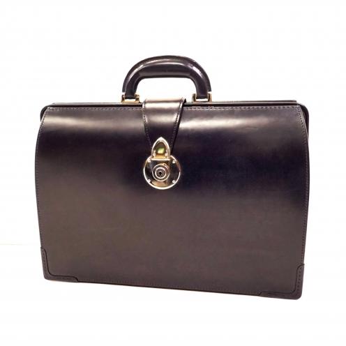 大峡製鞄(OOBASEIHOU) ブリティッシュ ブライドル レザー ダレスバッグ