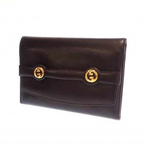 グッチ(GUCCI) インターロッキング 三つ折り財布