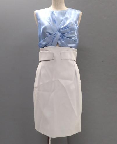 クリスチャンディオール(Christian Dior) 2014年 SS エレガントシルクドレスワンピース