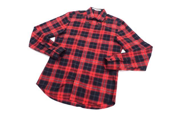 ジバンシィ(GIVENCHY) 2015-16年AW スターチェックシャツ