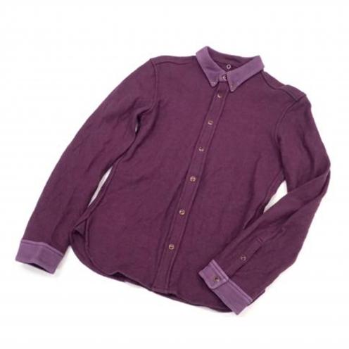 イサムカタヤマ バックラッシュ(ISAMU KATAYAMA BACKLASH) ボタンダウンウールシャツ