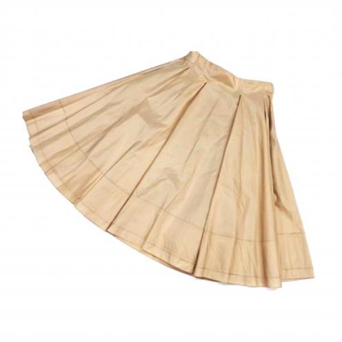フォクシー(foxey) シルク レイヤードスカート