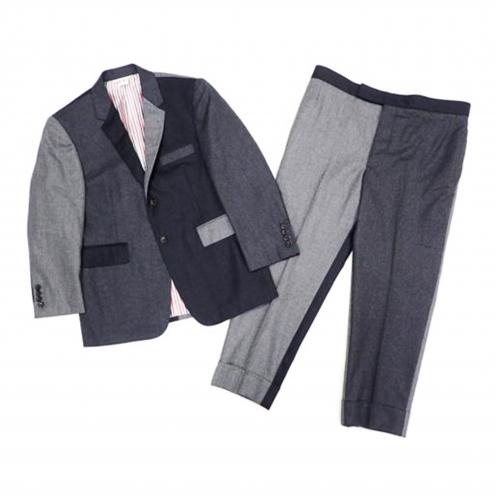 トムブラウン(THOM BROWNE) 2015年 ウールセットアップ 切替デザインスーツ