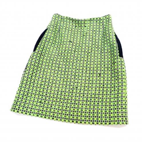 カルヴェン(CARVEN) コットンツイードスカート