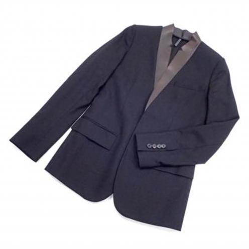 ディオールオム(Dior Homme) 10SS レザー切替テーラードジャケット