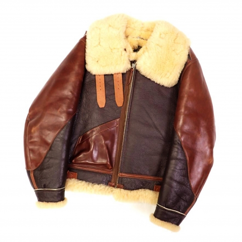 ザフュー(THE FEW) TYPE B-3 フライトジャケット ムートンレザー ROUGH WEAR CLOTHING ダウンジャケット