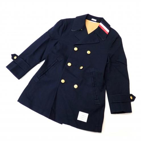 トムブラウン(THOM BROWNE) 2015年SS WASHED PEA COAT Pコート