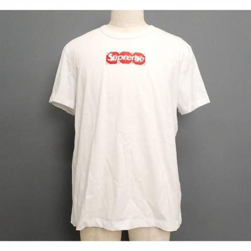 シュプリーム(Supreme)×ルイヴィトン(LOUIS VUITTON) 2017年SS MONOGRAM BOX LOGO TEE 半袖Tシャツ