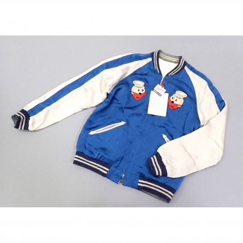 東洋エンタープライズ(TOYO ENTERPRISE) 1950s Style SEA BEES×APAN MAP スーベニアジャケット(SOUVENIR JACKET)