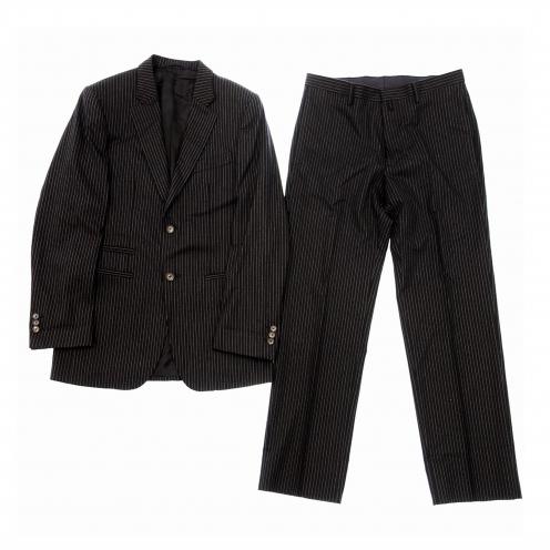 ジルサンダー(JIL SANDER) ストライプ柄 ウール スーツセットアップ