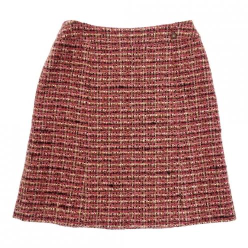 CHANEL シャネル 01A ミックスツイード スカート