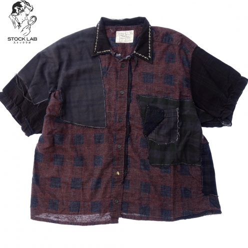 Porter Classic ポータークラシック HAND WORK CUSTOM FLANNEL SHIRT