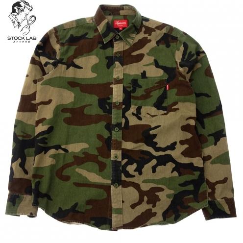 SUPREME シュプリーム 16AW Wood land shirt