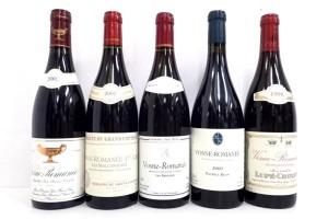 ヴォーヌロマネ 2002,2001,2000,1998年 高価買取いたしました!ワイン買取はお任せ下さい!