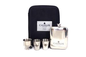 カミュ(CAMUS) ステンレスヒップフラスコ スキットル セット