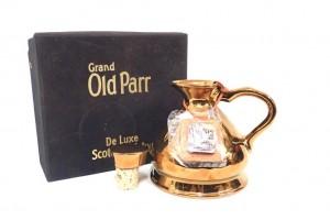 オールドパー(Old Parr) デラックス金 陶器ボトル