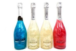 MAVAM マバム CLOUDEM クラウデム メタリックスパークリングワイン ラメシャンパン 宅配買取にて青森県青森市のお客様より高価買取いたしました!