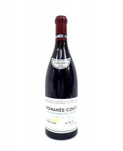 DRC ROMANEE CONTI ロマネコンティ 2000 宅配買取にて新潟県上越市のお客様より高価買取いたしました!