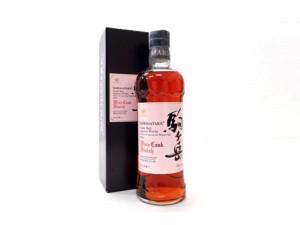 駒ヶ岳(KOMAGATAKE) シングルモルト シェリー&ホワイトーク ワインカスク フィニッシュ 2011年 箱付き
