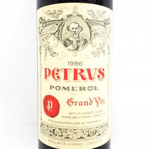 シャトーペトリュス(CH.PETRVS) ポムロル 1986年