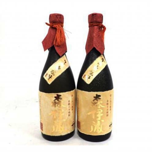 森伊蔵(MORIIZO) かめ壺焼酎 金ラベル 本格焼酎 2本セット