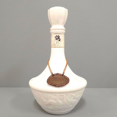ニッカウイスキー(NIKKA WHISKY) 鶴 17年 陶器ボトル