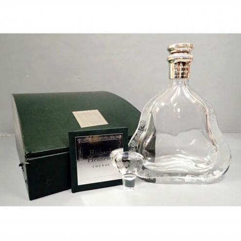 ヘネシー(Hennessy) リシャール(RISHARD) 旧空バカラボトル 箱付き