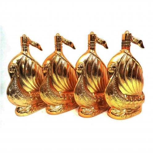 ラーセン(LARSEN) シップ ゴールド 空ボトル 4本セット