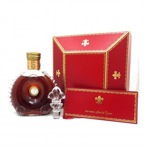レミーマルタンルイ13世(Remy Martin Louis XIII)  金キャップ 替え栓&箱&冊子付き