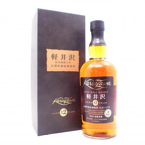 軽井沢(KARUIZAWA) 12年 長期貯蔵原酒使用 31-12年 箱付き