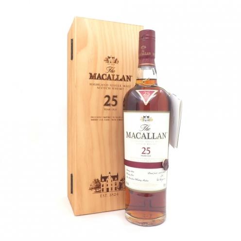 ザ・マッカラン (The Macallan) シェリーオーク 25年
