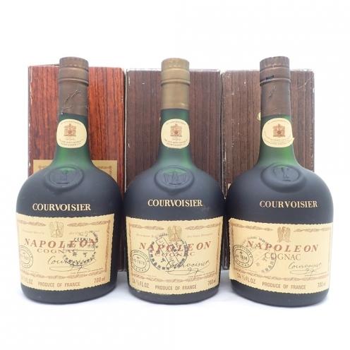 クルボアジェ (Courvoisier) ナポレオン オールドボトル