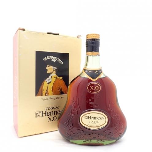 Hennessy ヘネシー XO 金キャップ グリーンボトル