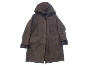 アンノウン(UNKNOWN) フード付き ムートン(MOUTON)コートを店頭買取にて神奈川県平塚市のお客様より高価買取いたしました。