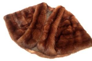 SOBOL ロシアンセーブル ポンチョ 高価買取いたしました! 毛皮の買取は当店にお任せ下さい!