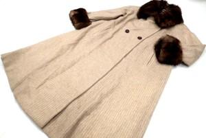 ヴァレンチノ×セーブルファー カシミヤロングコート 高価買取いたしました! 毛皮買取はストックラボにお任せ下さい!