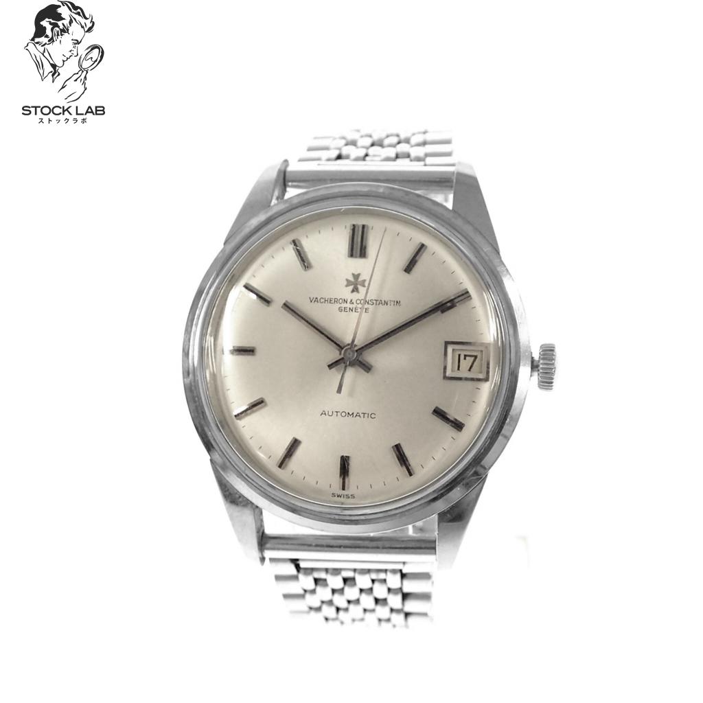 VACHERON & CONSTANTIN ヴァシュロンコンスタンタン アンティーク ジュネーブ 自動巻き 文字盤白 腕時計 シルバー 箱/ケース付き