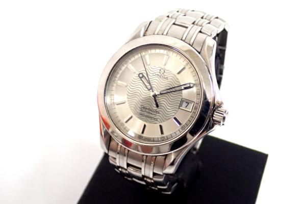 ◆OMEGA オメガ シーマスター 823 SS AUTO 自動巻き腕時計 シルバー×ホワイト系