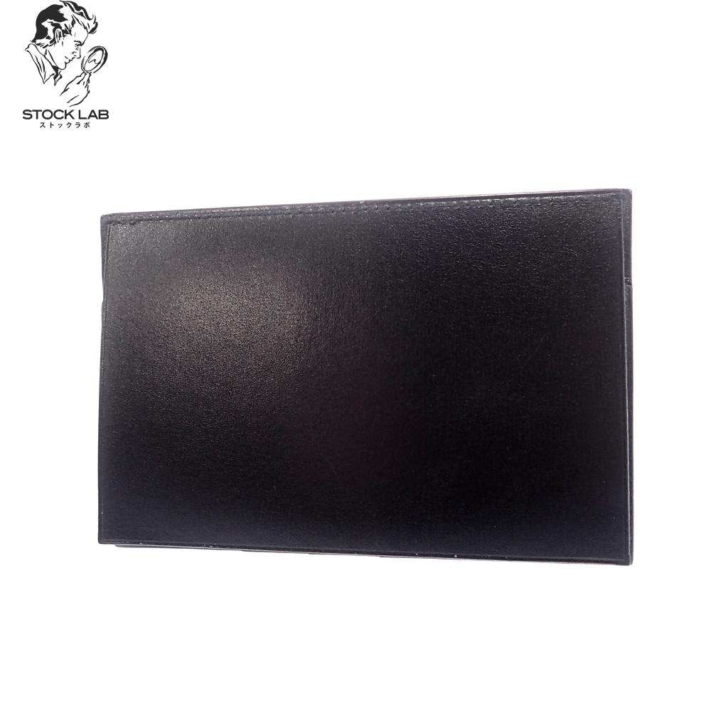 新品同様◆HERMES エルメス 二つ折り レザーカードケース 名刺入れ 黒 メンズ 箱付き