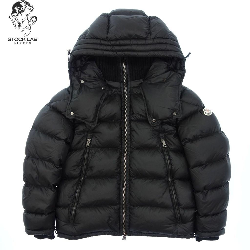 ◆MONCLER モンクレール PASCAL パスカル 国内正規 ダウンジャケット フード付き 2 黒 メンズ